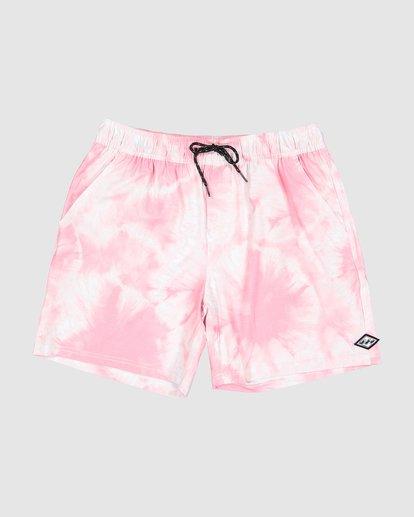 0 Riot Layback Boardshorts Pink 9507452M Billabong