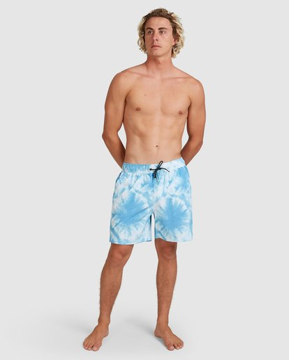6 Riot Layback Boardshorts Blue 9507452M Billabong