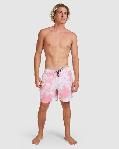 6 Riot Layback Boardshorts Pink 9507452M Billabong