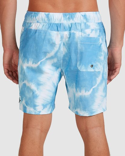 4 Riot Layback Boardshorts Blue 9507452M Billabong