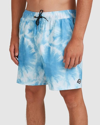 3 Riot Layback Boardshorts Blue 9507452M Billabong