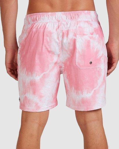 4 Riot Layback Boardshorts Pink 9507452M Billabong