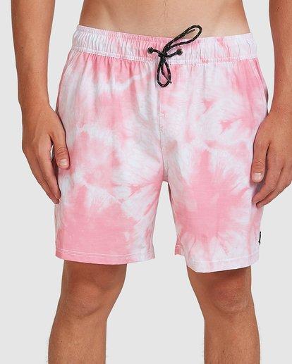 2 Riot Layback Boardshorts Pink 9507452M Billabong