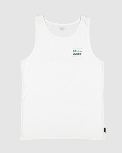 3 Bong Cut Tank White 9507502 Billabong