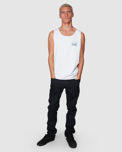 6 Bong Cut Tank White 9507502 Billabong