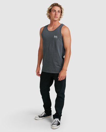 6 Down Under Tank Blue 9507535M Billabong