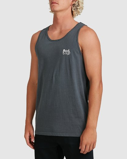 1 Down Under Tank Blue 9507535M Billabong
