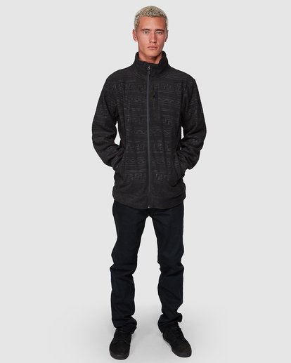 5 Boundary Pressed Zip Thru Black 9507605 Billabong