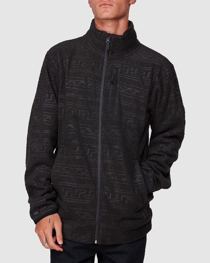 3 Boundary Pressed Zip Thru Black 9507605 Billabong