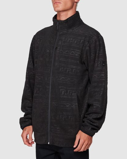 1 Boundary Pressed Zip Thru Black 9507605 Billabong