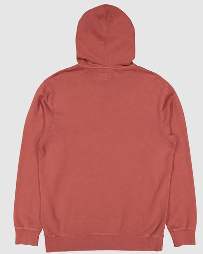 4 Overdye Pop Hoodie Red 9507608 Billabong
