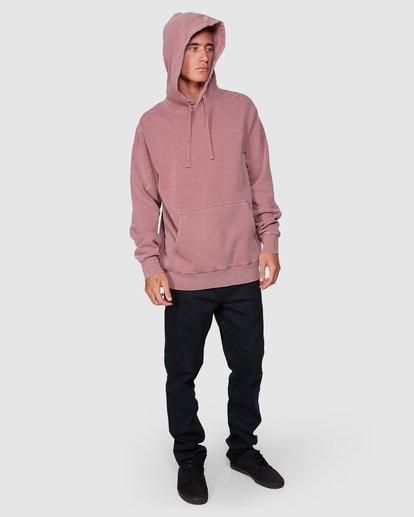 4 Overdye Pop Hoodie Pink 9507608 Billabong