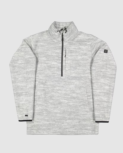 5 Boundary Mock Half Zip Grey 9507609 Billabong