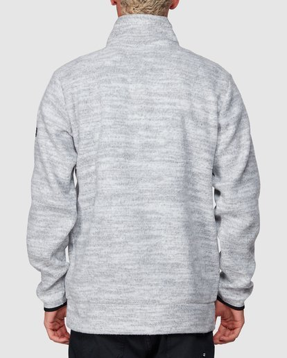 2 Boundary Mock Half Zip Grey 9507609 Billabong