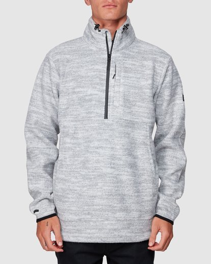 0 Boundary Mock Half Zip Grey 9507609 Billabong