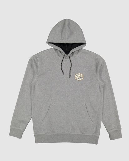 5 Shoreline Pullover Hoodie Grey 9507611 Billabong