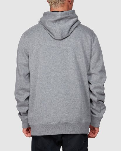 2 Shoreline Pullover Hoodie Grey 9507611 Billabong