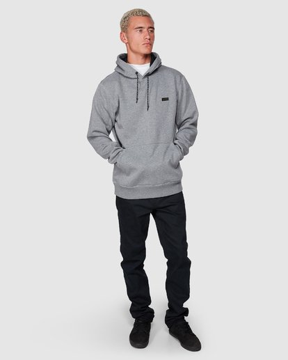 4 Shoreline Pullover Hoodie Grey 9507611 Billabong
