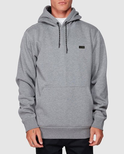 0 Shoreline Pullover Hoodie Grey 9507611 Billabong