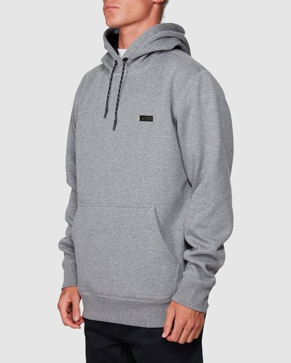 1 Shoreline Pullover Hoodie Grey 9507611 Billabong
