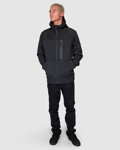 7 Quadrant Furnace Zip Black 9507621 Billabong