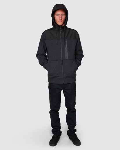 8 Quadrant Furnace Zip Black 9507621 Billabong