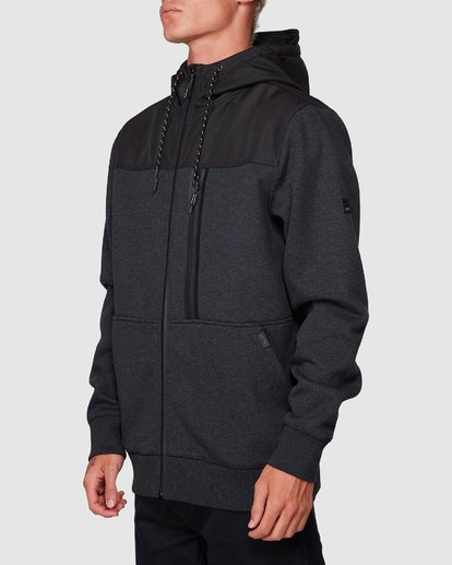 1 Quadrant Furnace Zip Black 9507621 Billabong