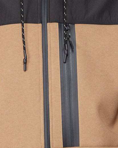 4 Quadrant Furnace Zip Beige 9507621 Billabong