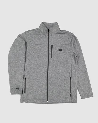 5 Adventure Division Mainland Zip Thru Grey 9507626 Billabong