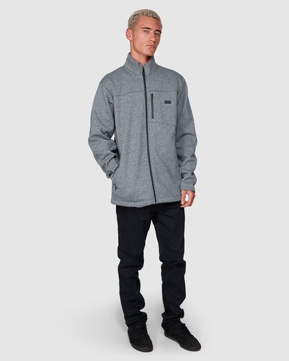 6 Adventure Division Mainland Zip Thru Grey 9507626 Billabong