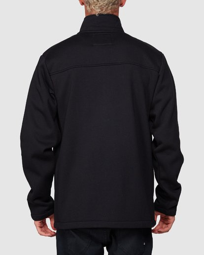2 Adiv Mainland Zip Thru Hoodie Black 9507626 Billabong