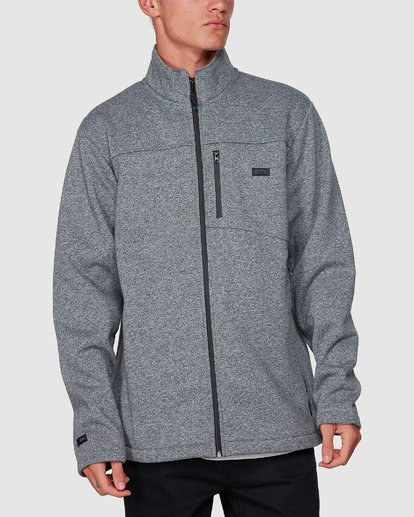 3 Adventure Division Mainland Zip Thru Grey 9507626 Billabong