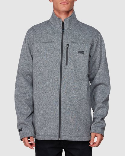 0 Adventure Division Mainland Zip Thru Grey 9507626 Billabong