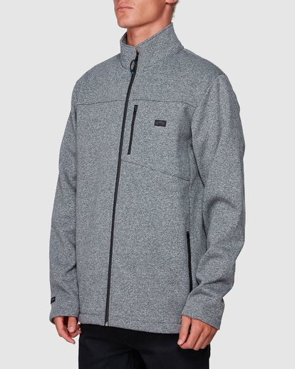 1 Adventure Division Mainland Zip Thru Grey 9507626 Billabong
