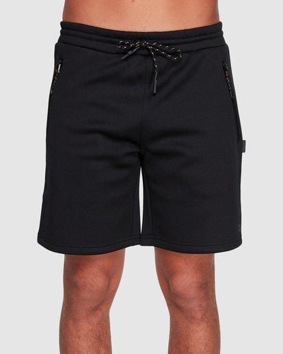 2 Adiv Tech Fleece Shorts Black 9507654 Billabong