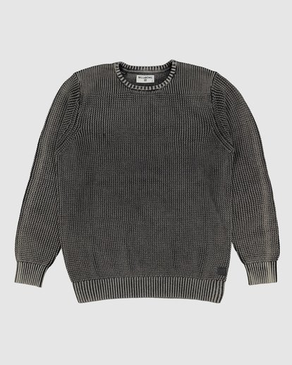 4 East Crew Knit Black 9507805 Billabong