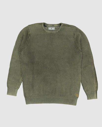 4 East Crew Sweater Green 9507805 Billabong