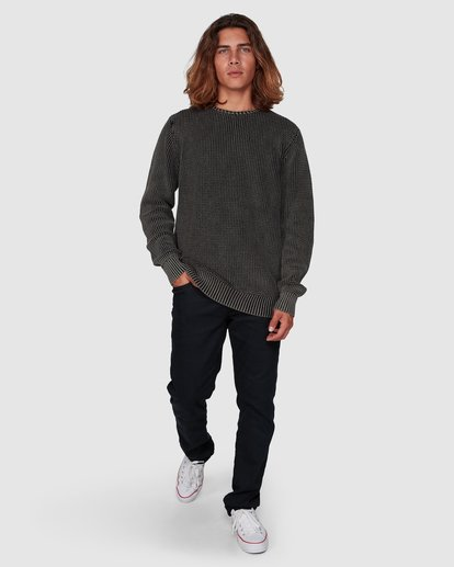 5 East Crew Knit Black 9507805 Billabong