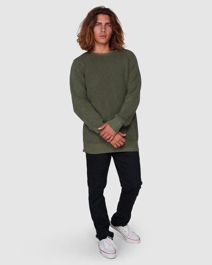 5 East Crew Sweater Green 9507805 Billabong