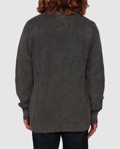 2 East Crew Knit Black 9507805 Billabong