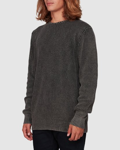 1 East Crew Knit Black 9507805 Billabong