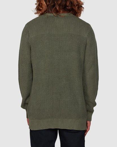 2 East Crew Sweater Green 9507805 Billabong