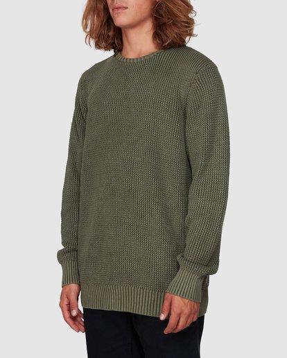 1 East Crew Sweater Green 9507805 Billabong