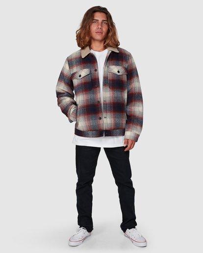6 Barlow Sherpa Jacket Blue 9507906 Billabong