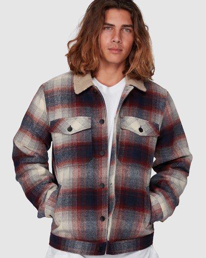 2 Barlow Sherpa Jacket Blue 9507906 Billabong