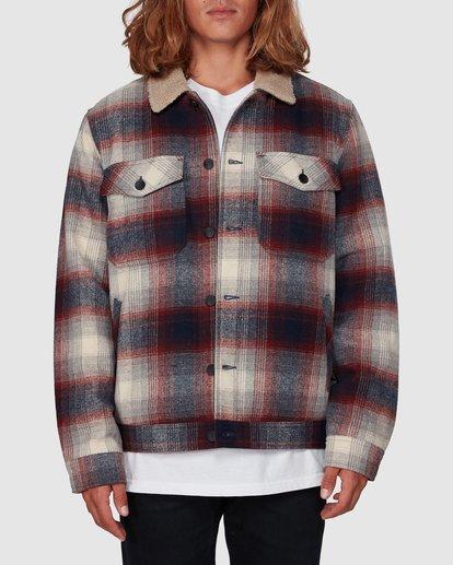 0 Barlow Sherpa Jacket Blue 9507906 Billabong