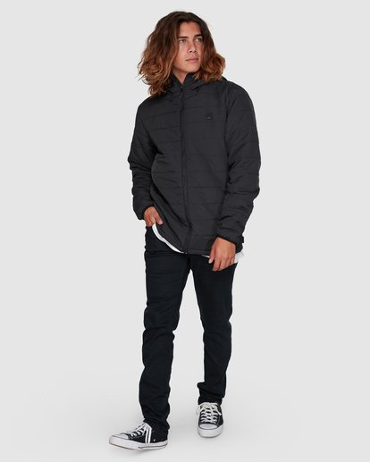 6 Journey Adiv Puffer Jacket Black 9507909 Billabong