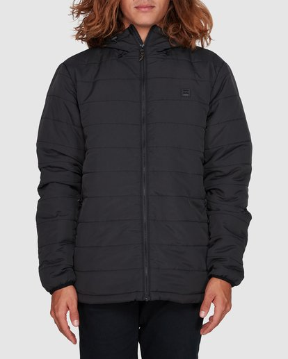 0 Journey Adiv Puffer Jacket Black 9507909 Billabong