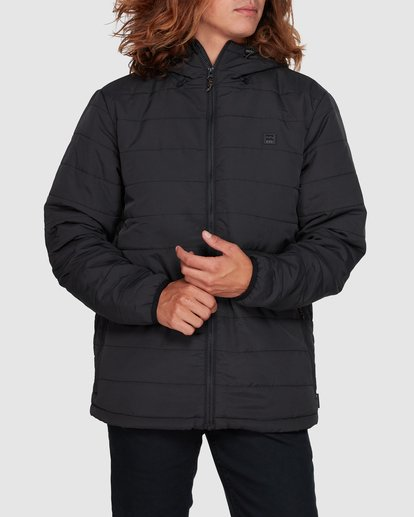 1 Journey Adiv Puffer Jacket Black 9507909 Billabong