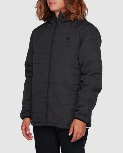2 Journey Adiv Puffer Jacket Black 9507909 Billabong